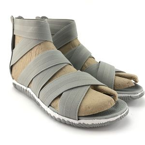 Sorel Womens Out 'N About Plus Strap Sandals Sz 10